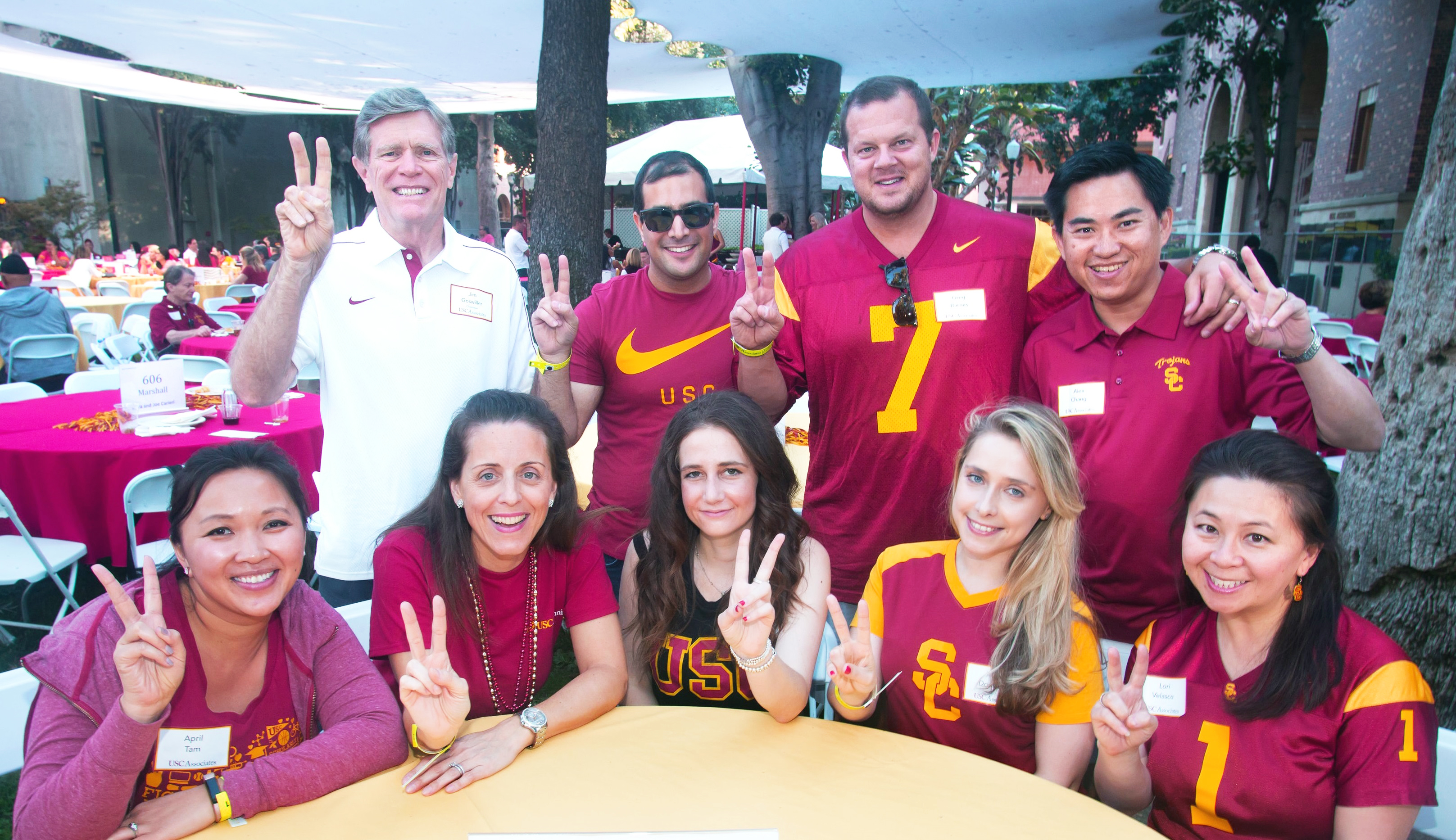 Marshall Partners at USC Associates Picnic